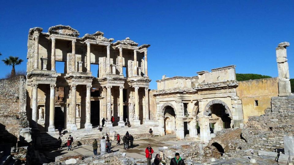 From Kusadasi Port: Best of Ephesus Private Tour